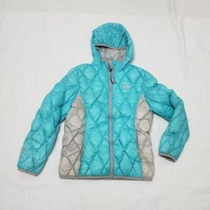 Gerry Down Feathers Coat Med 10-12 Girls FillPower